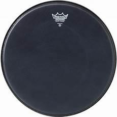 Remo Black Suede Snare Side Drum Remo Drum Heads