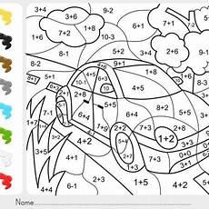 malen nach zahlen vorlage auto kindergarten colors math