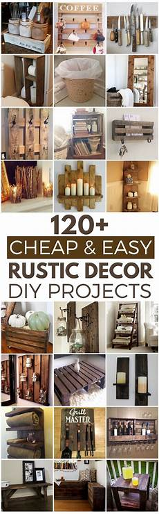 Wall Cheap Diy Home Decor Ideas Diy by 120 Cheap And Easy Diy Rustic Home Decor Ideas Easy
