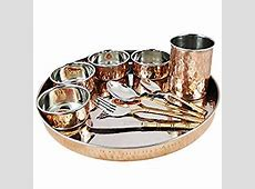 Amazon.com   Copper Stainless Steel Large Dinner Plate