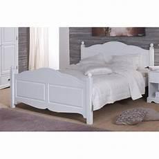lit blanc 2 places 160 x 200 avec sommier ebac beaux