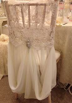 allyson beaded lace and chiffon chair cover w brooch chair decor and tables chairs
