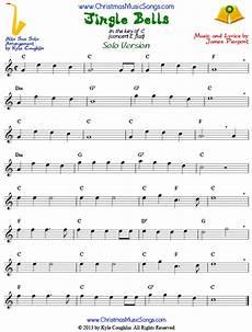 jingle bells for alto saxophone free sheet music