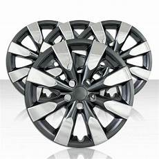 set of 4 wheel covers for 14 17 toyota corolla 8 spoke 16