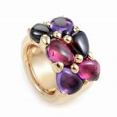 pomellato ebay pomellato sassi 18k gold amethyst iolite ring ebay