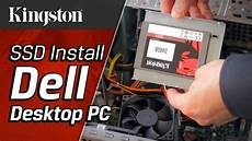how to install an ssd in a dell desktop pc kingston
