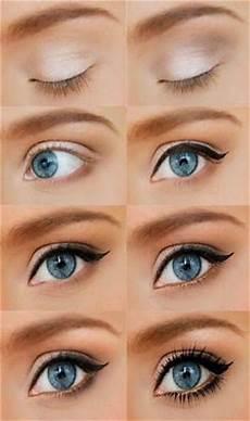 maquillage tuto yeux bleu tuto maquillage yeux bleus discret