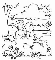coloring pages 17603 desenhos sobre a criacao para catequese e primeira eucaristia adam va sunday