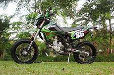 Modifikasi Klx Supermoto by Modifikasi Kawasaki Klx 250 Model Supermoto Minimalis