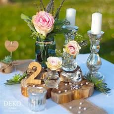 diy hochzeitsdeko romantisch rustikal selber machen deko