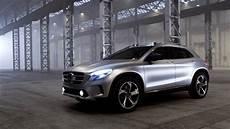 All New Mercedes Gla Class Concept Driving