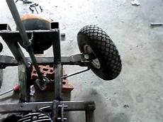 Seifenkiste Selber Bauen - fahrende bierkiste lenkung