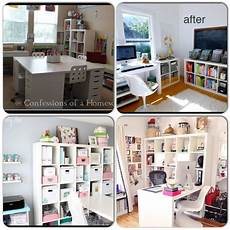 Arbeitszimmer Ikea Expedit - ikea expedit shelving and desk ideas for homeschool room