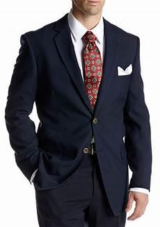 blazer homme classique adolfo classic fit navy blazer belk