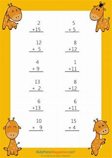 easy maths sums easy sums add to 20 worksheet 6 kidspressmagazine com