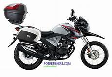Modifikasi New Megapro Touring by Honda New Mega Pro Fi Dual Purpose Siap Diajak Touring