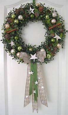 Türkranz Weihnachten Modern - 72 besten weihnachtskr 228 nze bilder auf basteln