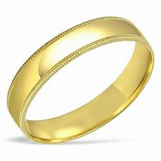 men s solid 10k yellow gold wedding band engagement ring 4mm 6mm anniversary ebay