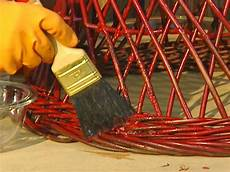 lack entfernen metall how to remove paint from metal and wicker how tos diy