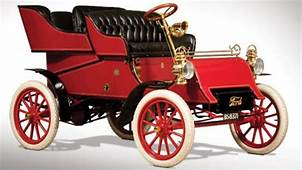 One Of The First Cars Made By Ford Motor Company Heading