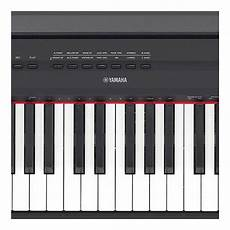 yamaha p 115b 88 key digital piano in black reverb