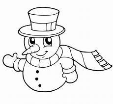 Malvorlagen Schneemann Ausmalbild Weihnachten Schneemann Kostenlos Ausdrucken
