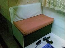 wohnmobil sitzbank selber bauen leben im wohnmobil 187 blogarchiv 187 die erste neue sitzbank
