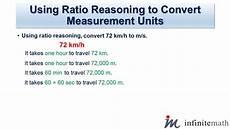 measurement and proportional reasoning worksheets 1581 using ratio reasoning to convert measurement units infinite math