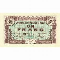 chambre de commerce melun billet des chambres de commerce melun 1 franc