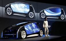 Toyota Unveils High Tech Concept Car Ahead Of Show