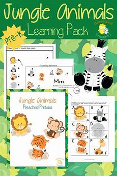 jungle animals worksheets for preschool 13917 teach preschool with free jungle animal printables jungle activities preschool jungle jungle