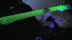 Neon Green Guitar Bass Strings Glow Amazing