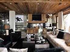 inneneinrichtung wohnzimmer holz best new ski homes in the world daily mail