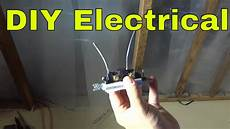 how to remove wiring pushed into a light switch diy electrical youtube