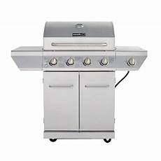 Kitchenaid Bbq Grill Home Depot by Nexgrill 4 Burner Propane Gas Grill In Stainless Steel