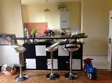 Table De Bar Avec Kallax Deco Salon Plan