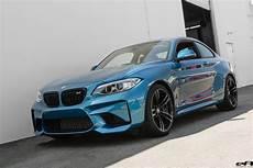 Blue Metallic Bmw M2 Gets An M Performance Exhaust