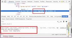 don t use hidden attribute with angular 2