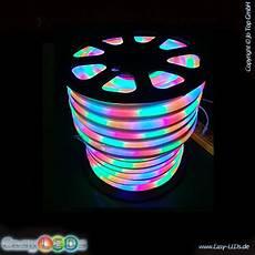 led lichtschlauch neonflex 10m rgb lauflicht 230v