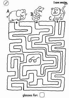 Kinder Malvorlagen Labyrinth I Mini Labyrinth Brille
