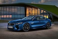 Bmw M8 Gran Coupe Puts On A Production Ready Blue Suit