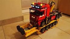 lego technic 8258 schwertransport rc umbau lego bei