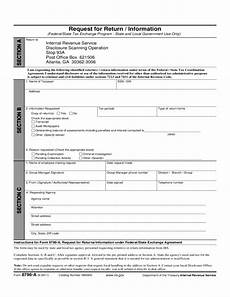 form 8796 a request for return information 2011 free