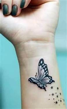 With Butterfly On Wrist Wrist