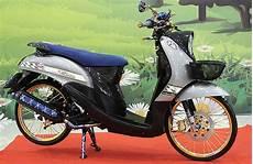 Modifikasi Fino Premium by Yamaha Fino 12 Lombok Duper Maksi Gajah Putih