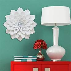 home decorative products layered flower wall d 233 cor stratton home decor