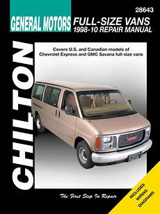 old car owners manuals 2003 chevrolet express 2500 electronic valve timing express 2500 haynes manuals