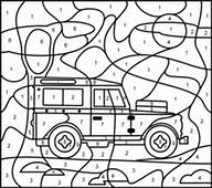 Jeep Coloring Page Printables Apps For Kids