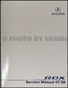 2007 2008 acura rdx repair shop manual original