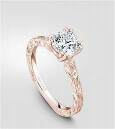 luxury rose gold engagement ring vintage for your perfect